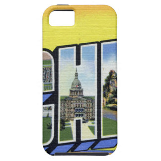 Greetings From Michigan Tough iPhone 5 Case