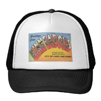 Greetings From Minneapolis Trucker Hats