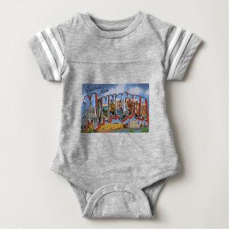 Greetings From Minnesota Baby Bodysuit