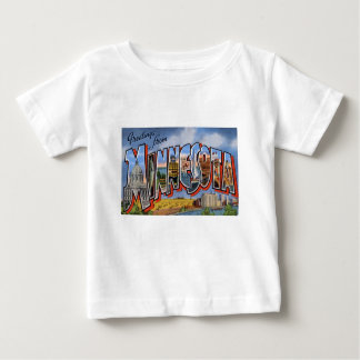 Greetings From Minnesota Baby T-Shirt