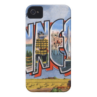 Greetings From Minnesota Case-Mate iPhone 4 Case