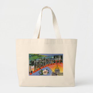 Greetings From Mississippi Large Tote Bag