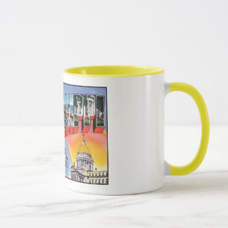 Greetings From Mississippi Vintage Postcard Mug