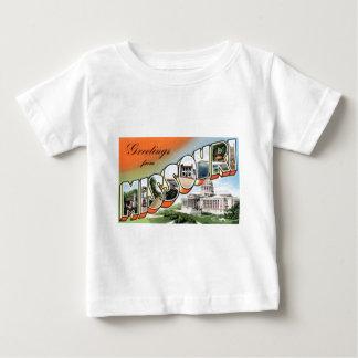 Greetings From Missouri Baby T-Shirt