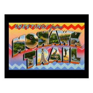 Greetings from Mohawk Trail Postcard