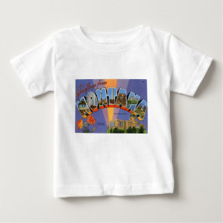Greetings From Montana Baby T-Shirt