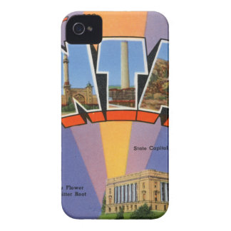 Greetings From Montana iPhone 4 Case-Mate Case