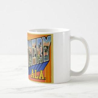 Greetings from Montgomery Alabama Basic White Mug