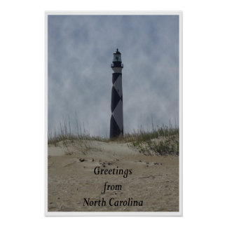 Greetings from NC Poster