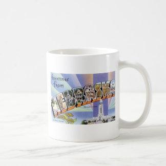 Greetings From Nebraska Coffee Mug
