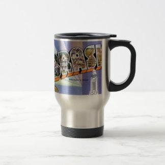 Greetings From Nebraska Travel Mug