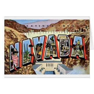 Greetings From Nevada Card