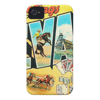 Greetings From Nevada Case-Mate iPhone 4 Case