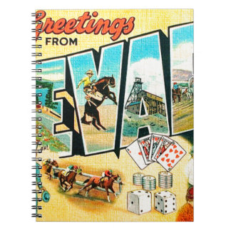 Greetings From Nevada Notebooks