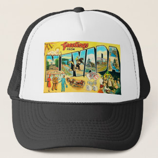 Greetings From Nevada Trucker Hat