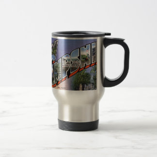 Greetings From New Hampshire Travel Mug