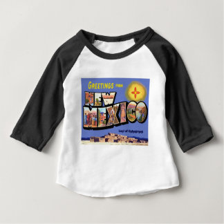 Greetings From New Mexico Baby T-Shirt