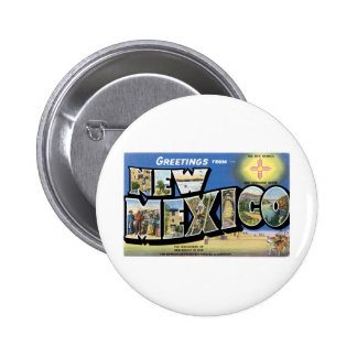 Greetings from New Mexico Pinback Button