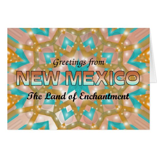 Greetings from New Mexico Cards