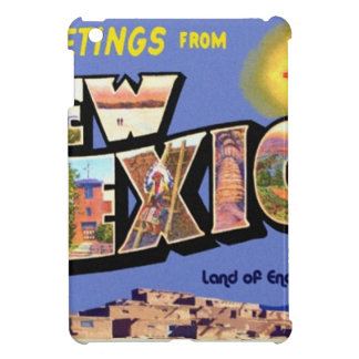 Greetings From New Mexico Cover For The iPad Mini