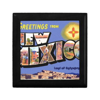 Greetings From New Mexico Gift Box