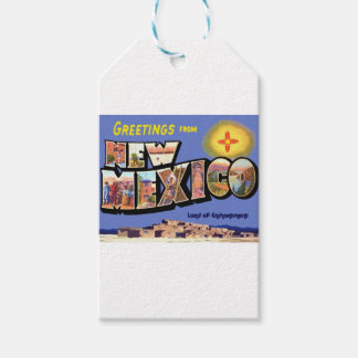 Greetings From New Mexico Gift Tags