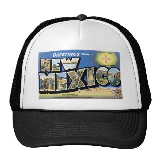 Greetings from New Mexico Mesh Hats