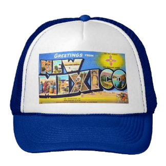 Greetings from New Mexico Hats