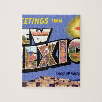 Greetings From New Mexico Jigsaw Puzzle
