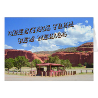Greetings from New Mexico Notecard 2