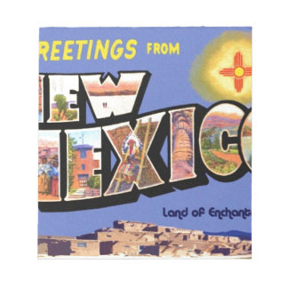 Greetings From New Mexico Notepad