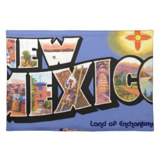 Greetings From New Mexico Placemat
