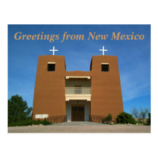 Greetings from New Mexico Postcard