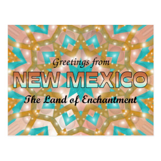 Greetings from New Mexico Post Card