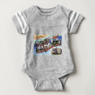 Greetings From North Carolina Baby Bodysuit