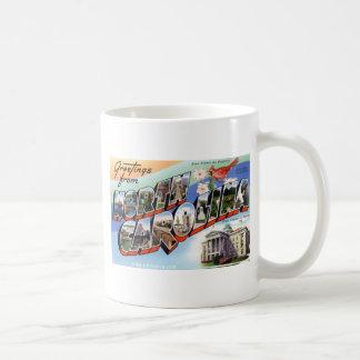 Greetings From North Carolina Coffee Mug