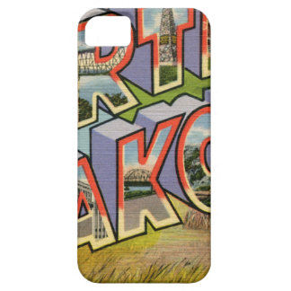 Greetings From North Dakota iPhone 5 Case