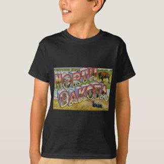 Greetings From North Dakota T-Shirt