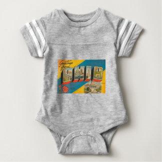 Greetings From Ohio Baby Bodysuit