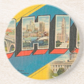 Greetings From Ohio Coaster