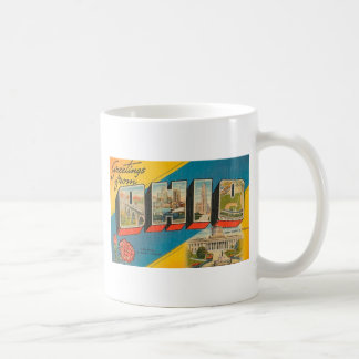 Greetings From Ohio Coffee Mug