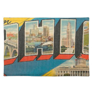 Greetings From Ohio Placemat