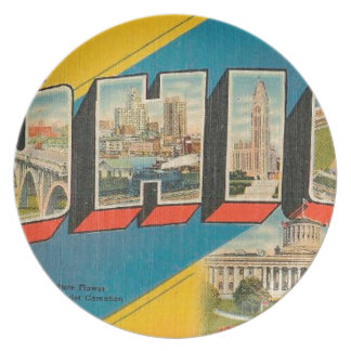 Greetings From Ohio Plate