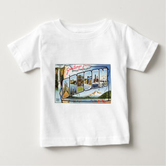 Greetings From Oregon Baby T-Shirt