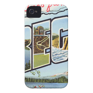 Greetings From Oregon Case-Mate iPhone 4 Case