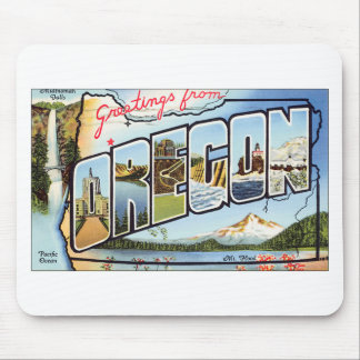 Greetings From Oregon Mouse Pad