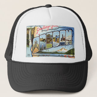 Greetings From Oregon Trucker Hat