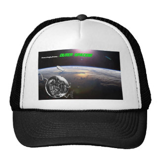Greetings from out space! trucker hat