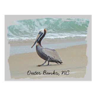 Greetings From Outer Banks OBX NC Post Card