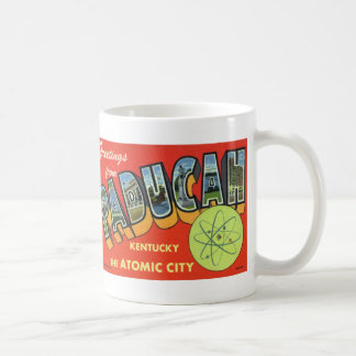 Greetings from Paducah Vintage Postcard Mug